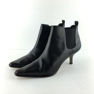 Donald J Pliner Black Ankle Booties Size 9.5M